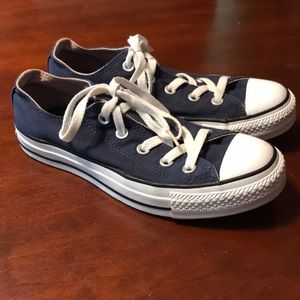 Converse All Star Sneakers Blue Size 4